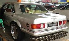Mercedes Tuning-Fail