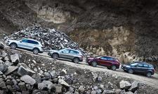 VW Tiguan/BMW X1/Hyundai Tucson/Ford Kuga: Vergleich
