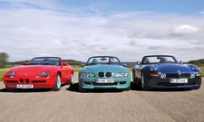 BMW Z1/Z3/Z8: Roadster-Vergleich