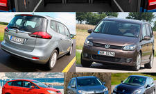 Gebrauchtwagen-Ratgeber Familien-Vans