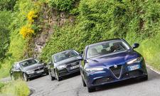 Alfa Romeo Giulia/Audi A4/BMW 3er: Vergleich