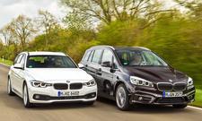 BMW 3er Touring/BMW 2er Gran Tourer: Vergleichstest