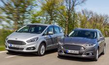 Ford S-Max/Ford Mondeo Turnier: Vergleich