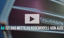 Fakten zum Audi A4: Video