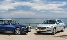Volvo V90/Mercedes E-Klasse T-Modell: Vergleich