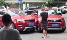 Range Rover Evoque vs. Landwind X7: Unfall