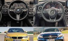 BMW M4 Mercedes-AMG C 63 S Coupé