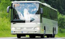 11-Jähriger fährt Bus: Video