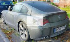 BMW Z4 Coupé abgestellt: Video