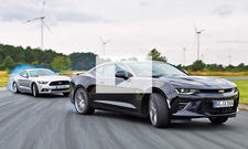 Ford Mustang und Chevrolet Camaro (2016): Video