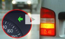 Blinken bei abknickender Vorfahrt: Video