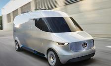 Mercedes Vision Van auf IAA Nutzfahrzeuge 2016