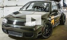 Die stärksten VW Golf der Welt: Video