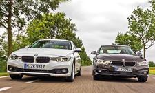 BMW 3er-Vergleich: 320i und 320d