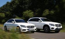 Mercedes C-Klasse/Mercedes GLC: Vergleich