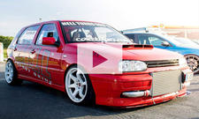 VW Golf VR6 Hell Turbo (Hellgolf): Video