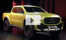 Mercedes X-Klasse (2017): Video