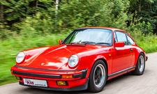 Porsche 911 G-Modell mit KW Sportfahrwerk