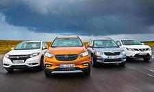 Opel Mokka X/Skoda Yeti/Nissan Qashqai/Honda HR-V