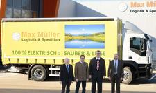 Speditionen nutzen erstmals Elektro-LKW