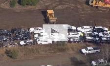 BMW bei Zugunglück zerstört: Video
