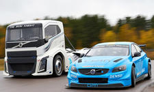 "Volvo S60 Polestar TC1 gegen Volvo ""The Iron Knight"""