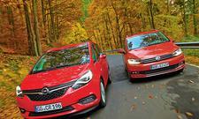Opel Zafira 2.0 CDTI/VW Touran 2.0 TDI SCR