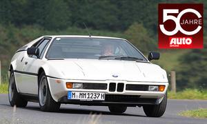 50 Jahre AUTO ZEITUNG Sportwagen
