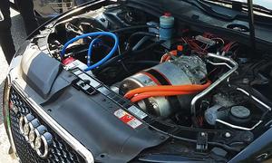 Audi S5 mit Tesla-Elektro-Motor