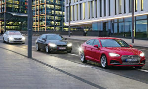 Audi A5 Sportback, BMW 430i & Skoda Superb im Test