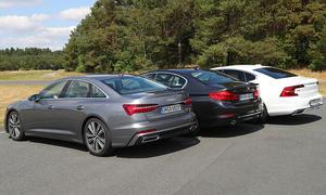 Audi A6, BMW 5er, Volvo S90 im Test
