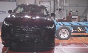 Audi Q8 (2018) im Crashtest