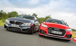 BMW M4 Competition/Audi RS 5 Coupé