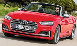 Erste Fahrt im neuen Audi S5 Cabrio (2017)