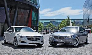 Cadillac CTS/BMW 5er (F10): Vergleich