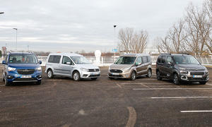 Opel Combo/VW Caddy/Ford Tourneo/Citroën Berlingo: Test