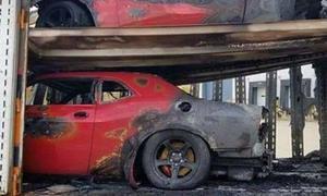 Dodge Demon Unfall