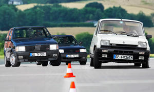 Fiat Uno Turbo/R5 Alpine Turbo/VW Polo G40