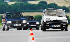 Fiat Uno Turbo/R5 Alpine Turbo/VW Polo G40
