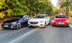 Audi A4/Mercedes C-Klasse/Opel Insignia