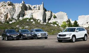 Mercedes GLE/Skoda Kodiaq/Volvo XC90/VW Touareg