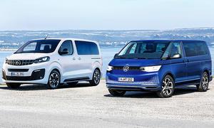 Opel Zafira Life/VW T7: Vergleich