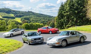 911/quattro/SVX/Celica: Classic Cars