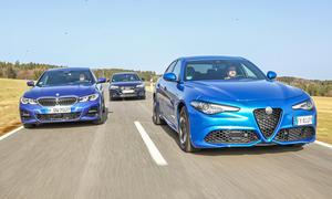 BMW 3er/Audi A4/Alfa Romeo Giulia