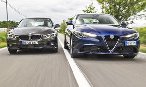 Alfa Romeo Giulia/BMW 3er