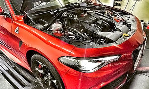 Alfa Romeo Giulia QV von Pogea Racing