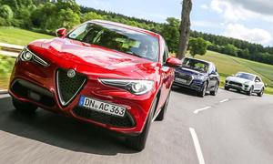 Alfa Romeo Stelvio/Audi Q5/Porsche Macan