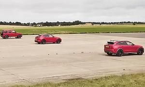 Mercedes-AMG G63/Jaguar F-Pace SVR/Alfa Romeo Stelvio QV