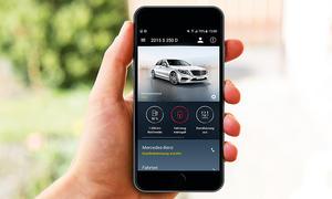 Die App zum Auto: Mercedes