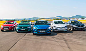 Audi A3/BMW 118i/Ford Focus/Opel Astra/VW Golf